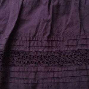 LOFT Skirts - The loft purple mini skirt